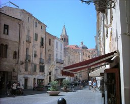 The old town in Alghero