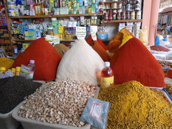 Spices in the Souq